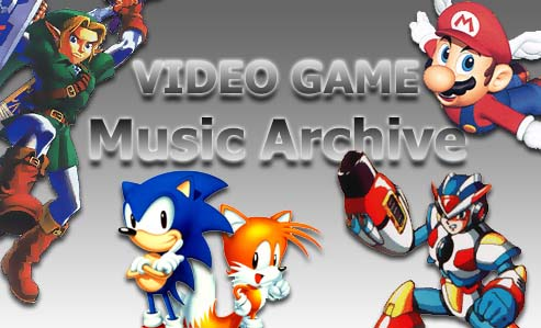Videogame Music Archive Logo made by Alexander Farris